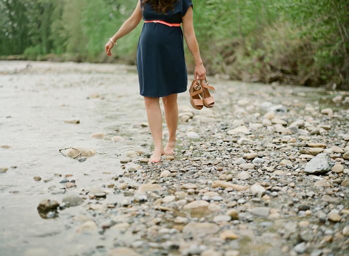 maternity, baby, newborn, calgary, photographer, film, contax, fish creek park, kodak, fuji, ©Gabe McClintock | www.gabemcclintock.com
