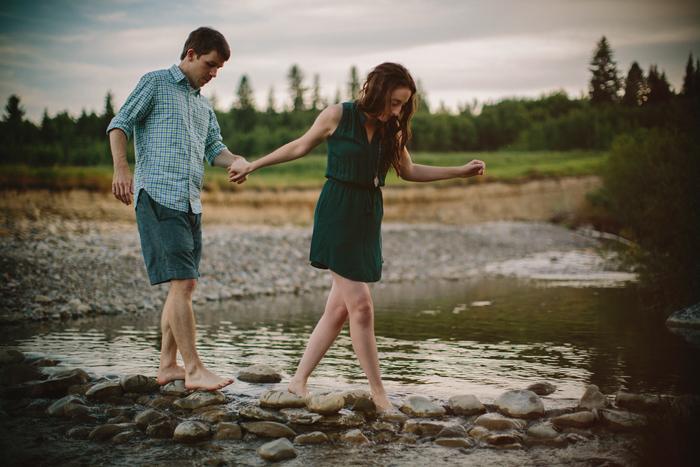 calgary, engagement, wedding, couples, love, embrace, fish creek, alberta, canada, ©Gabe McClintock | www.gabemcclintock.com