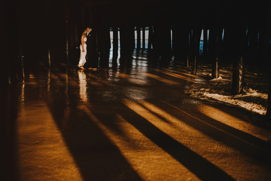 santa monica photographer, santa monica pier, los angeles, california, wedding, beach, sunset, chasing light, nikon d750, vsco, © Gabe Mcclintock Photography | www.gabemcclintock.com