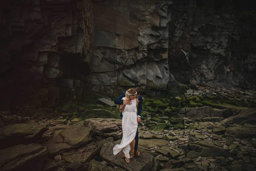 New brunswick photographer, hopewell rocks, bay of fundy, east coast, elopement, beach, sunset, chasing light, nikon d750, vsco, © Gabe Mcclintock Photography | www.gabemcclintock.com