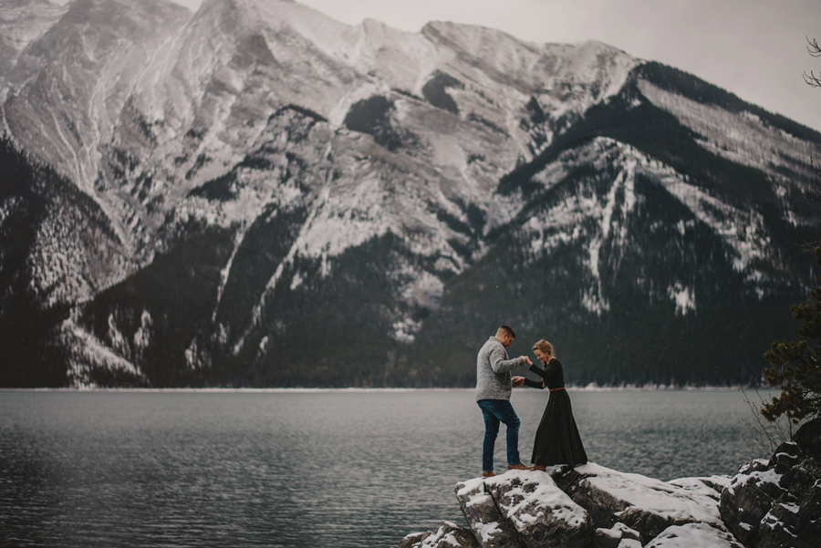 banff photographer, explore Alberta, connection, sunset, chasing light, nikon d750, vsco, © Gabe Mcclintock Photography | www.gabemcclintock.com