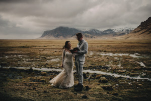 Iceland wedding photographer, iceland photograoher, explore Iceland, Iceland wedding photos, black sand beach, hotel ranga, connection, elopement, wedding, bride and groom, Nikon, D750, sigma art, VSCO, ©Gabe McClintock Photography | www.gabemcclintock.com