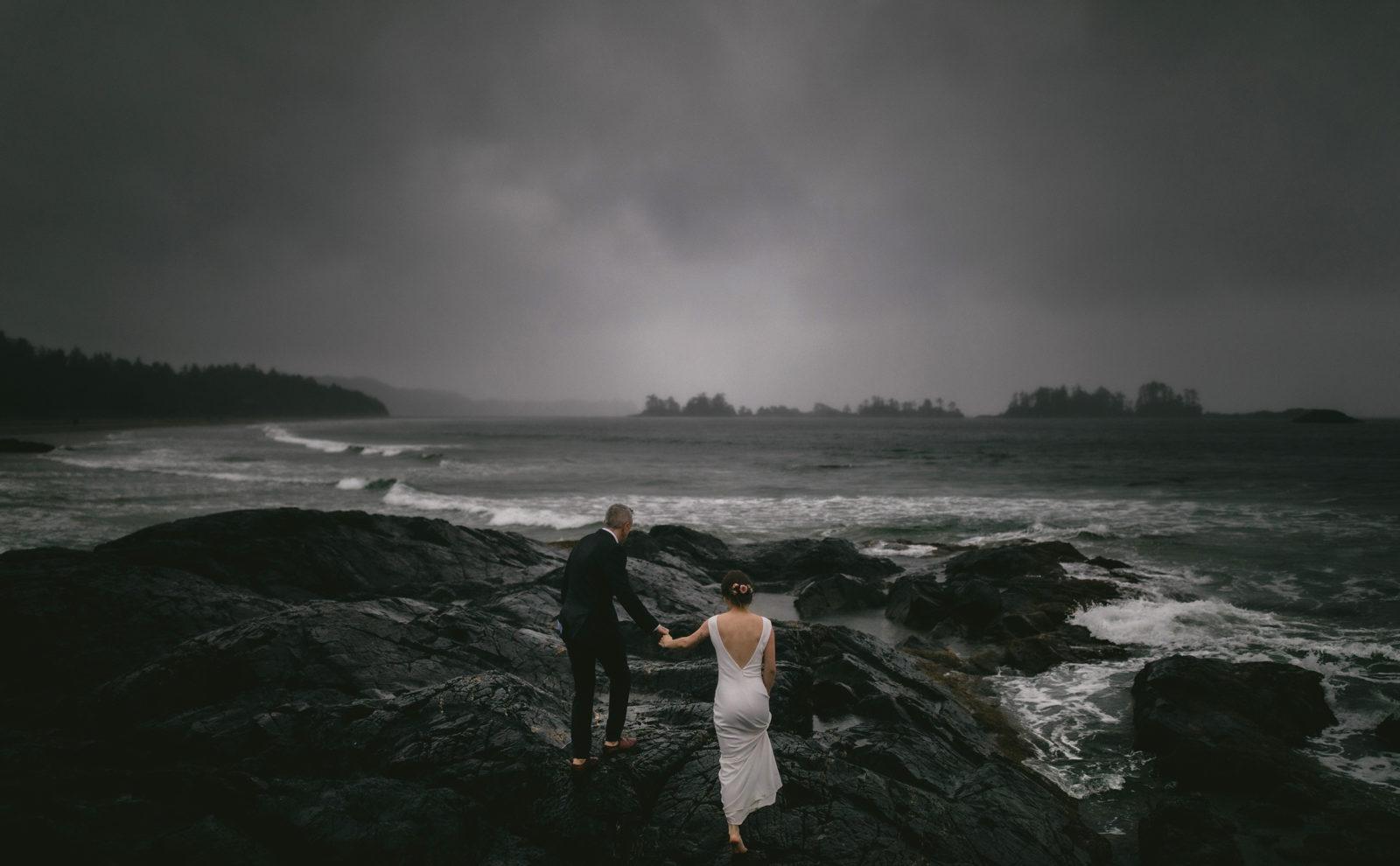 Jessica and Kevin . Tofino